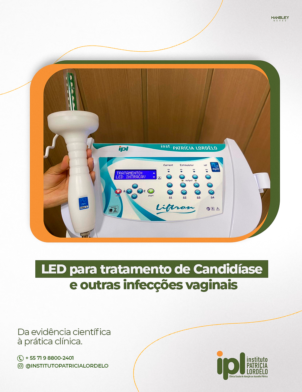 LED intravaginal